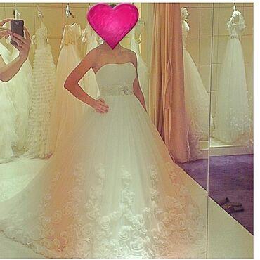 Шикарное свадебное платье с силуэтом принцессы. Основные черты этого