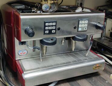 Итальянская кофемашина Ла Ласкала и кофемолка К-6