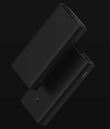 Xiaomi Mi Power Bank 3 (20 000 mAh) High Version.  Внешний аккумулятор