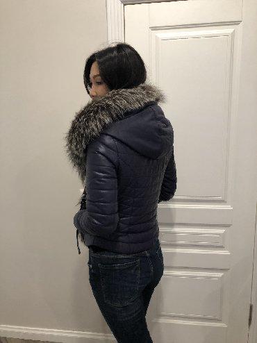 Куртка натуральная кожа, натуральный мех. Фирменная оригинал!!! Джиан