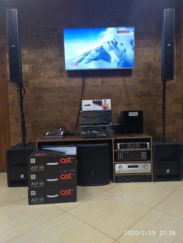 g-динамики в Кыргызстан: Караоке комплект для кабинок с колонками и микрофонами!!!1)Ast