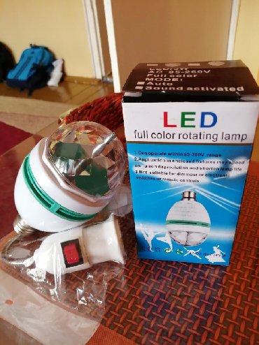 Lunar led - Beograd: Led lampa u boji Nova sa dodatkom za struju