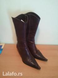 Kozne cizme sa unutrasnjim rajfeslusom,  in Novi Sad