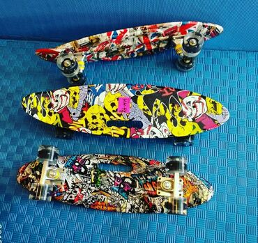Penny skateboard-orjinaldı,80kq-a qədər çəki götürür.Peşəkar məşğul