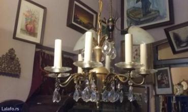 Raskosan luster mesing sa kristalima - Belgrade