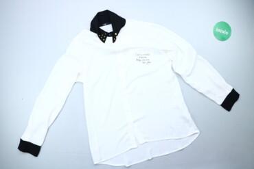 1537 объявлений: Жіноча блуза з декором та принтом Oodji, p. L   Довжина: 71 см Ширина