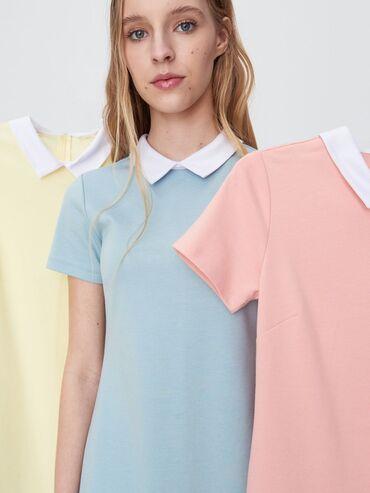 Fly ds185 - Beograd: Haljina sa kragnom u vise boja Napišite koji model i veličinu želite