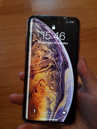 Электроника - Кызыл-Кия: Б/У iPhone Xs Max 64 ГБ Золотой