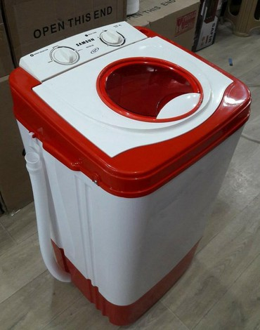 Vertical Yarımavtomat Washing Machine 9 kq