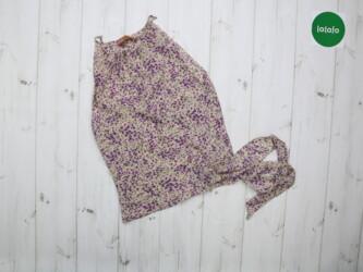 Женская блуза в цветы Ange    Длина: 47 см Пог: 36 см Состояние очень