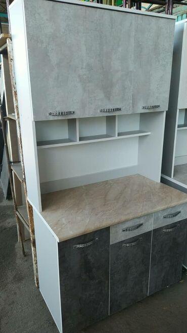 Новые кухонные шкафы 100см 8000 сом с бесплатной доставкой по городу