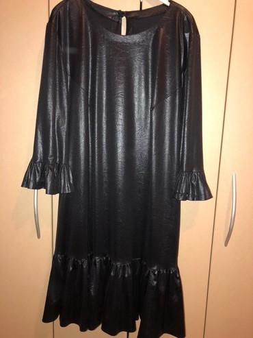 Crna haljina skaj lak - Novi Sad