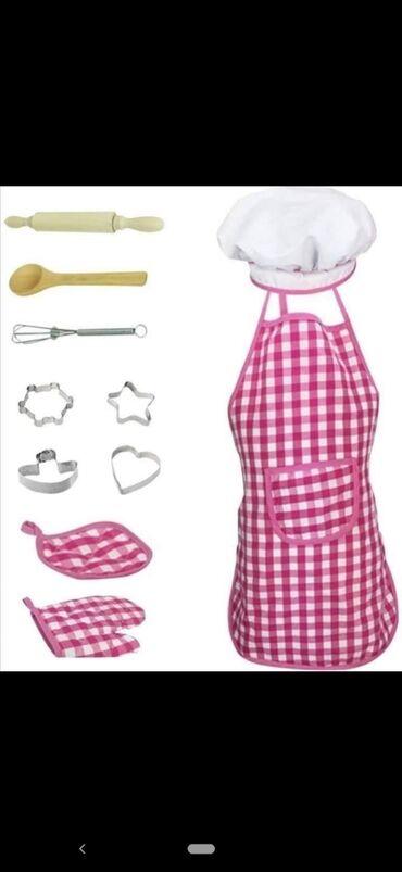 Decije sobe - Srbija: Set za male kuvarenSve što je potrebno malim spretnim kuvarima da