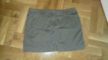 Suknje - Srbija: S Oliver kratka suknja,velicina 38,u super stanju.Sirina
