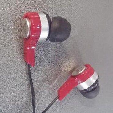 Стерео наушники вкладыши без микрофона (новые)Цвет наушников: винно