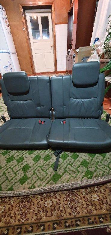 Продаю сиденья третьего ряда от Toyota Prado 120 в хорошем состоянии