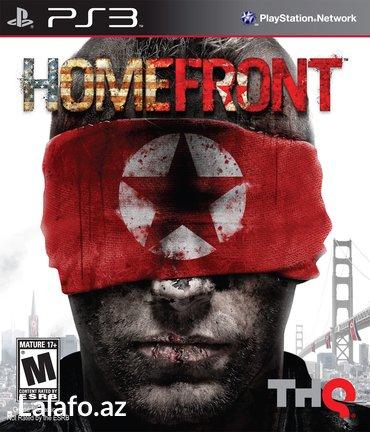 """Bakı şəhərində """"Homefront"""" Ps3 diski"""