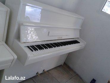 Bakı şəhərində Tam yeni scholze markalı piano - Çexoslovakiya istehsalı, ideal- şəkil 6