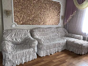 Диван и 2 кресла-кровати в Лебединовка