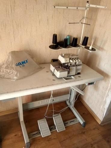 пятинитка в Кыргызстан: Продаю пятинитку jaki. Не безшумная, обычная. Состояние отличное. Шьёт
