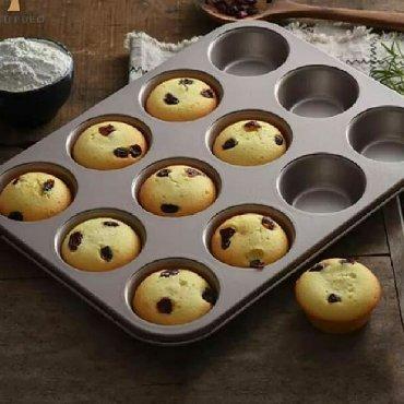 12 bölmeli keks bişirme qabı