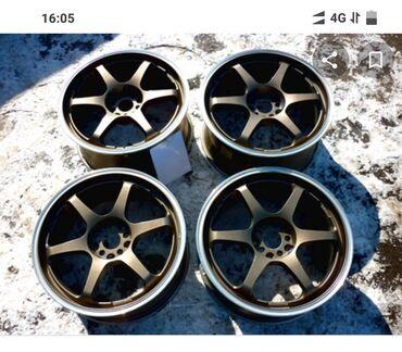 купить-диски-на-тойоту в Кыргызстан: Продаю диски 5Zigen Pro Racer R17,et 48, 7.5j. Разболтовка 5*100