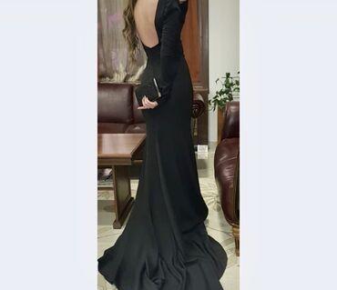 Duga haljina - Srbija: Duga maturska haljina, veličina 36. Jednom nošena
