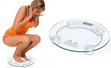 Digitalna vaga za merenje telesne težine. Meri maksimalno do 150 kg. - Nis