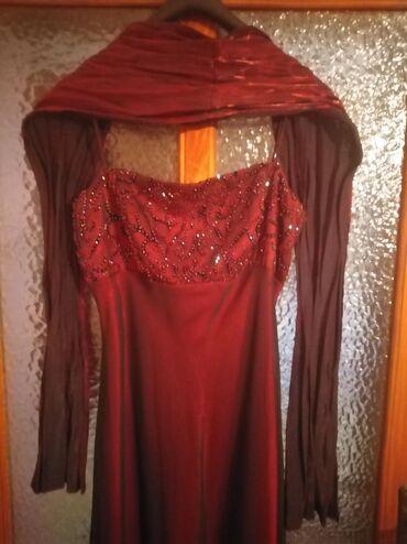 Haljina-crvena-ic - Srbija: Svecana haljina crvena m 1500