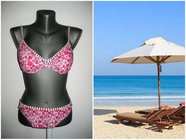Crni-bikini - Srbija: *** BIKINI *** MPrelepi bikini. Cvetni print. Mislim da nije ni nosen