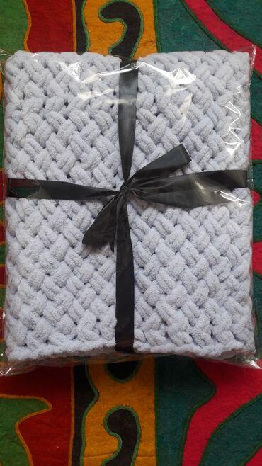 Детское нежное одеяло ручная работаВяжу с любовью Размер