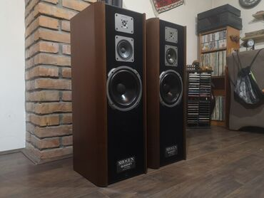 Zvučnici i zvučni sistemi | Srbija: Quadral Shogun MK 4 Braon boja. Na stanju 2 para - braon i crne