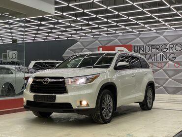 Автомобили - Бишкек: Toyota Highlander 3.5 л. 2014   96000 км