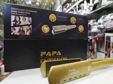 """Bakı şəhərində """"FAPA 950 dereceprofessional(ENZO SALON)"""" ütü feni"""