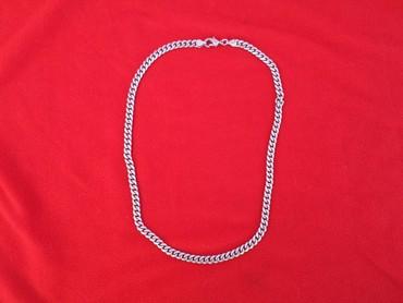 цепь серебряная в Кыргызстан: Цепь серебряная 925 проба. Длинна 55 см вес 45 грамм