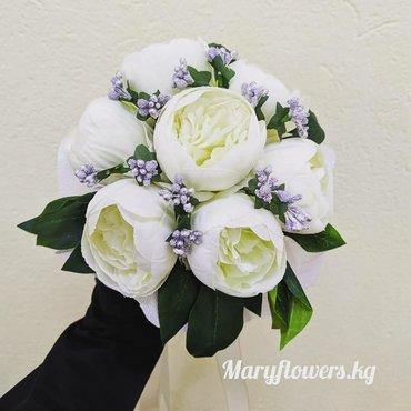 Свадебные платья и аксессуары - Бишкек: Искусственные свадебные букеты