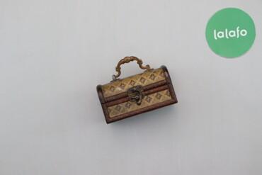 Дом и сад - Украина: Шкатулка для прикрас Скриня   Довжина: 8 см Ширина: 15 см  Стан гарний