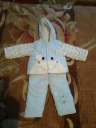 Детская одежда и обувь в Каинды: Продаю детский костюм тройка, до года