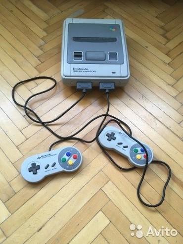 Nintendo 3DS в Кыргызстан: Продаю SUPER NINTENDO + Flash carfridge!Консоль - 6000сом! Флеш