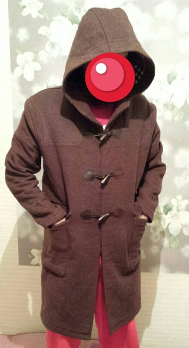 Мужское пальто размер М