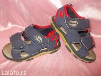 Sandalice br 24. Imaju dva para cicka za podesavanj - Prokuplje
