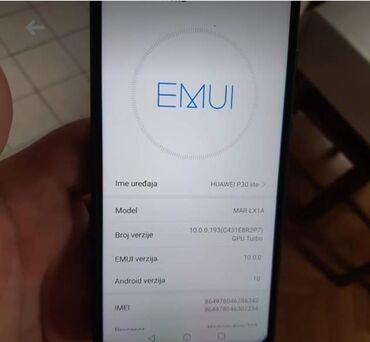 Huawei p9 single sim - Srbija: Na prodaju Huawei P30 lite.Bez ostecenja,ogrebotina i bilo kakvih