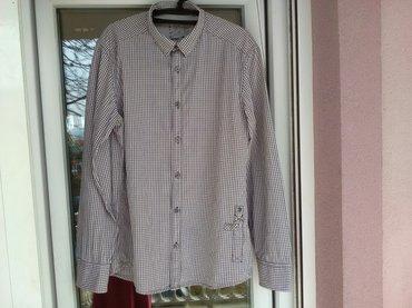 Kvalitetna muška košulja esprit, lepog dezena, veličina l, 100% - Pozarevac