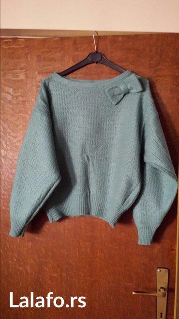Ženski džemper, novo , 38 veličina, vuna, pamuk - Velika Plana