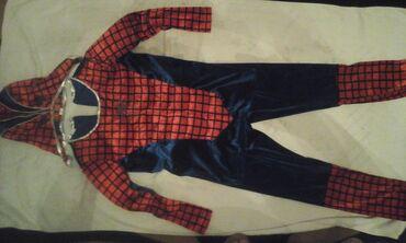 """Детская одежда и обувь - Мыкан: Продаётся новогодний костюм """"Человек - паук"""" возраст 7-9 лет"""