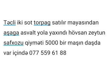 ucuz mac - Azərbaycan: Satılır 2 sot Tikinti mülkiyyətçidən