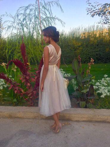 вечернее платье из франции в Кыргызстан: Продаю платье в идеальном состоянии.Одевала 1 раз. Длина французская