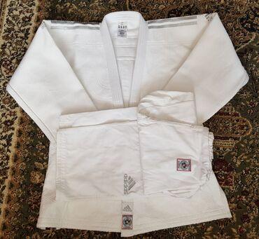 Спорт и отдых - Каракол: Продаются новые кимоно - дзюдоги GreenHill размер -155. 4500сом