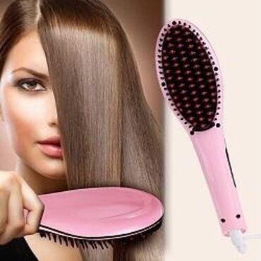 Расческа выпрямитель fast hair straightener - Кыргызстан: Продаю расчёску выпрямитель