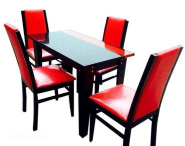 Bakı şəhərində Metbex masasi teklif olunur istifade olunan materiallar mese agaci (